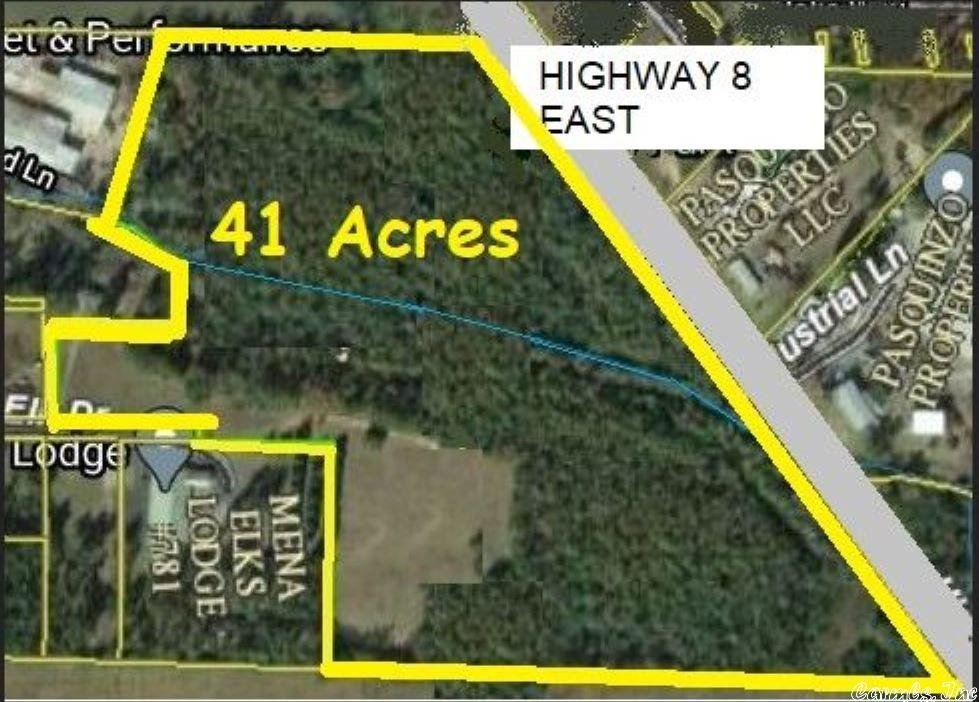 Farm/Ranch/Land for sale – TBD  HWY 8 E   Mena, AR